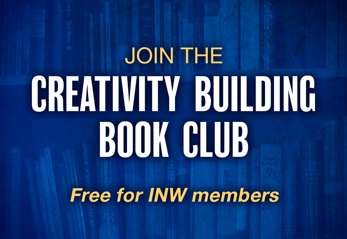 Our next Creativity Building Book Club Selection will be announced in 2021.