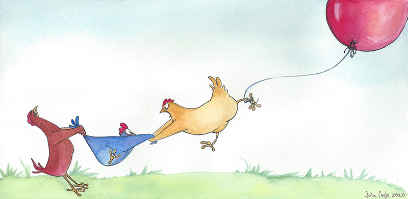 Chickens Can Fly